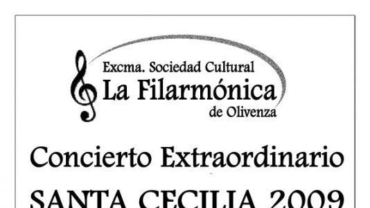 Concierto de Santa Cecilia 2009