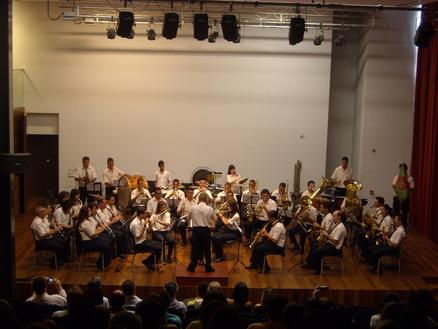 Concierto en Cámara de Lobos (Isla de Madeira, 2009)