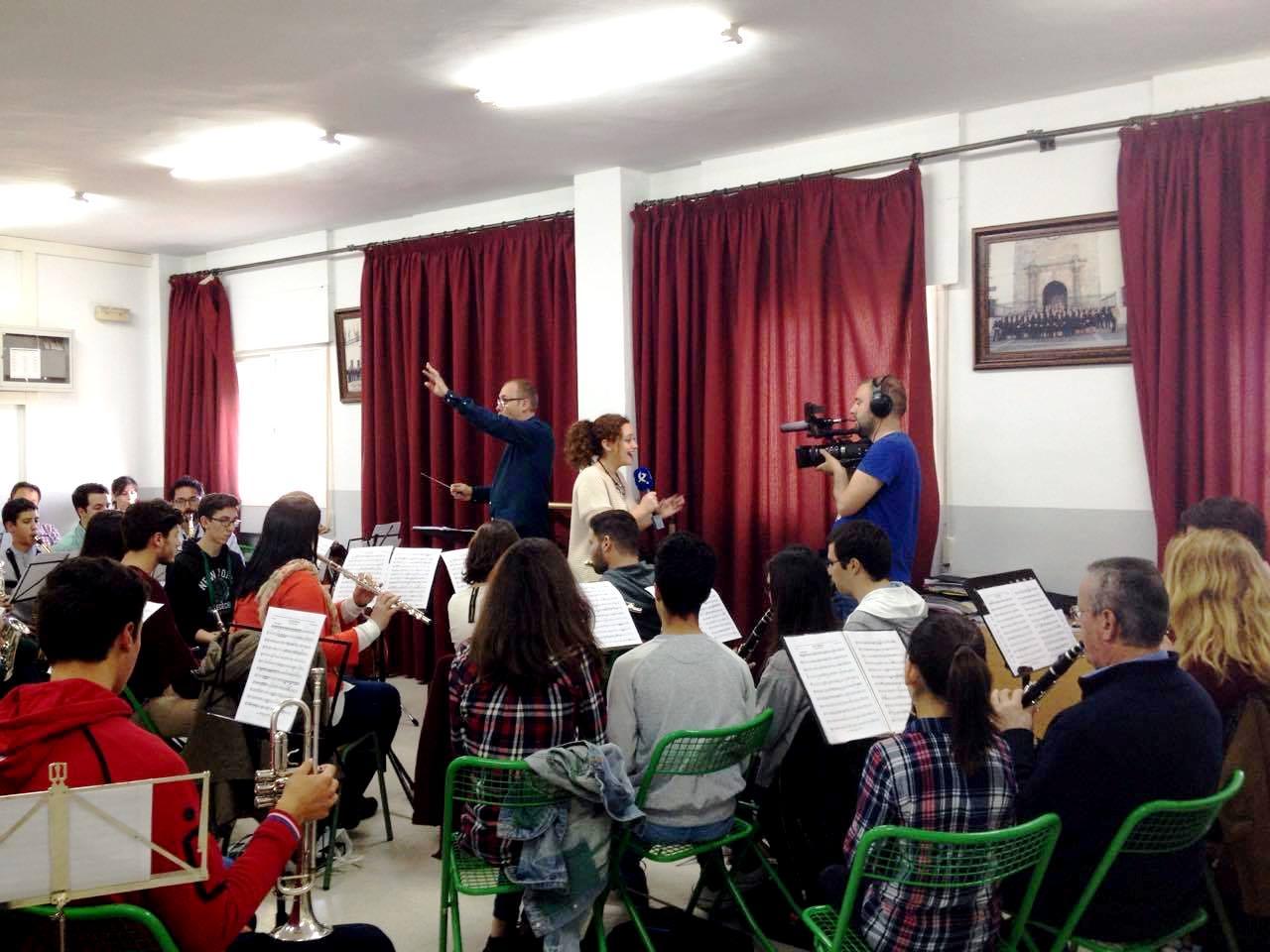 La Filarmónica de Olivenza en Canal Extremadura
