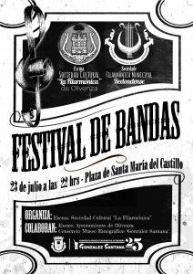 Cartel Concierto Verano 2016