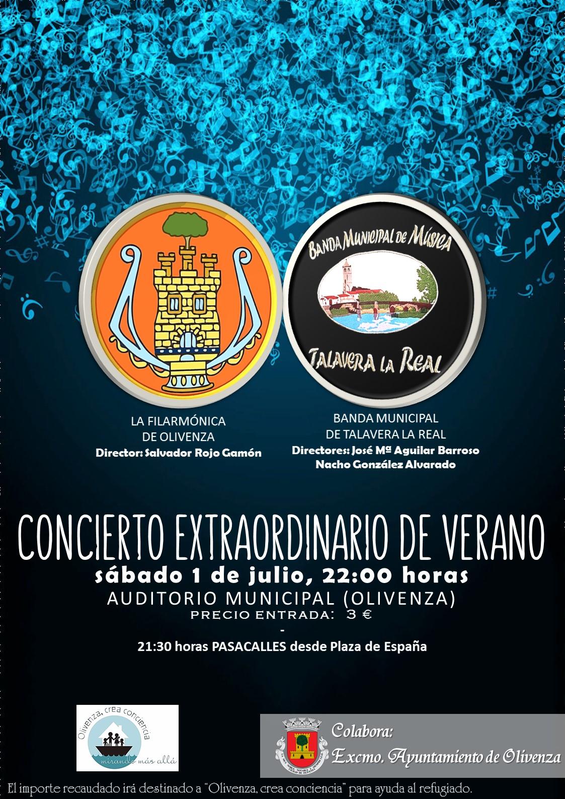 Este sábado tienes una refrescante cita con la música y la solidaridad en Olivenza