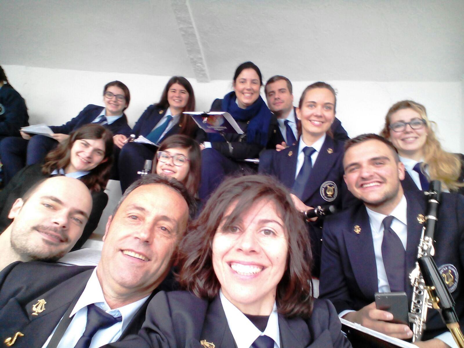 La Filarmónica, un año más, pone música a los toros en Olivenza
