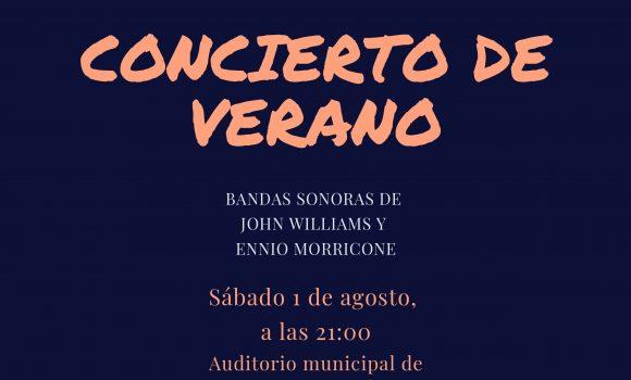 CONCIERTO DE VERANO 2020